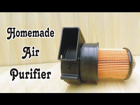 How To Make Homemade Air Purifier