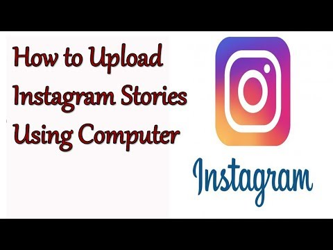 HOw to Upload Instagram  stories Using Computer||Make your own story on Instagram