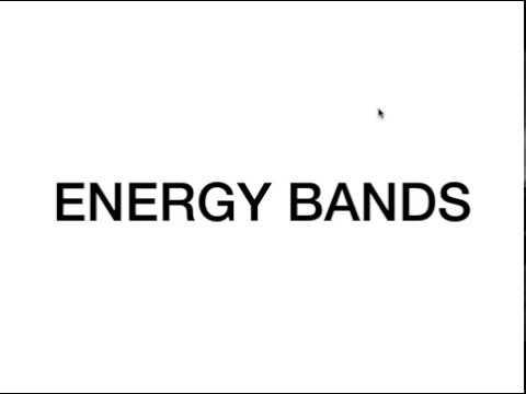 ENERGY BANDS | ANALOG CIRCUITS | 1