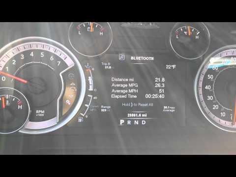 Dodge ram 1500 5.7 hemi fuel economy