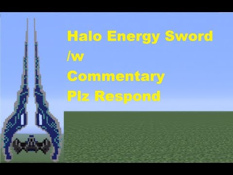Minecraft 360: How to Build a Halo Energy Sword