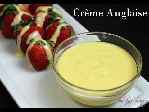 How to Make Crème Anglaise - Basic Custard Sauce
