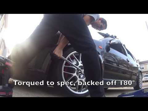 Front Wheel Bearing Replacement | MK4 Jetta Wolfsburg 1.8T Volkswagen | Not a DIY