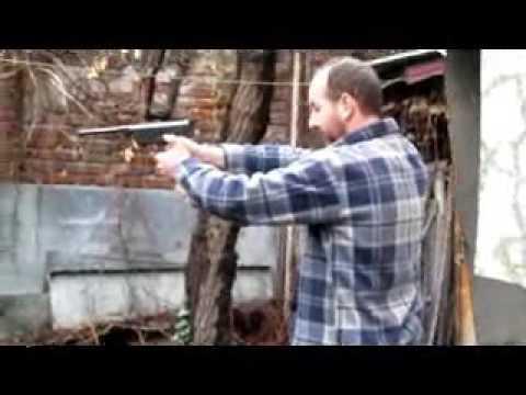 Air Pistol vs Beer Keg - FAIL