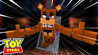 FIVE NIGHTS AT THE TOYSTORE | Freddys Revenge ! Minecraft Little Kelly