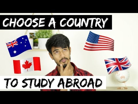 How to choose a country to study abroad | Canada vs. USA vs. AUS