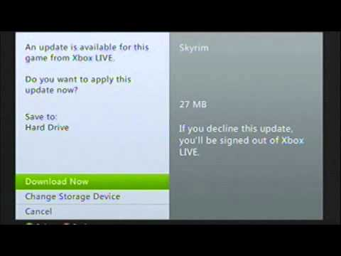 How To Install Skyrim Dawnguard (Xbox 360)