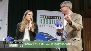 Demo with Carl Vause (Soft Robotics)