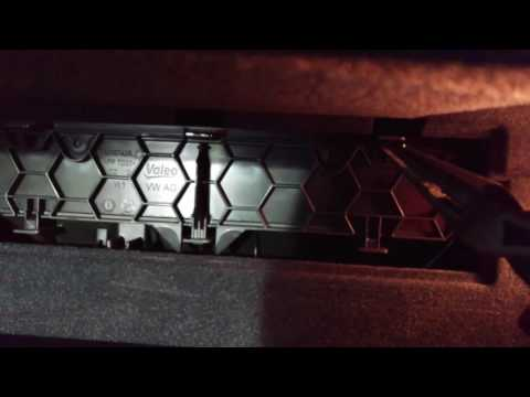 2015 Audi S3 A3 cabin air filter change