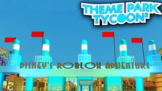 Roblox Studio Water Park Disney Adventure Park In Theme Park Tycoon 2 Roblox