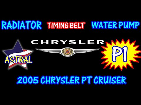 ⭐ 2005 Chrysler PT Cruiser - Timing Belt - Water Pump - Radiator - PART 1