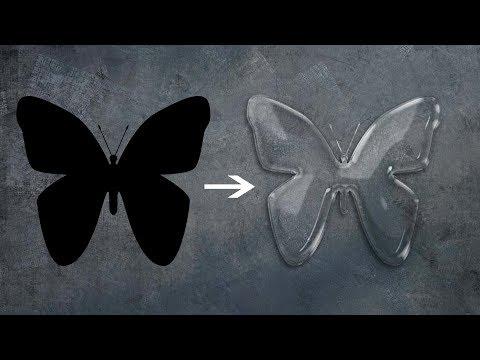 How to Create Transparent Logos in Photoshop | Logo Design Tutorial