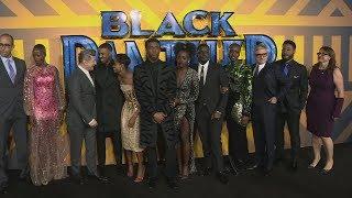 Black Panther cast dazzle at European premiere in London