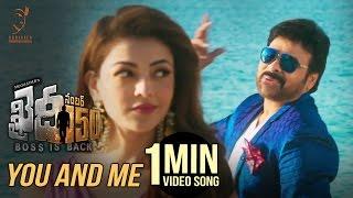 You And Me 1 Minute Video Song   #KhaidiNo150   Chiranjeevi   Rockstar DSP