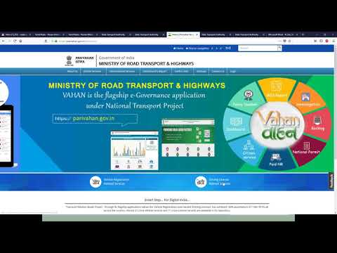 Tamil Nadu - Renew Motor Vehicle Driver License from Other State