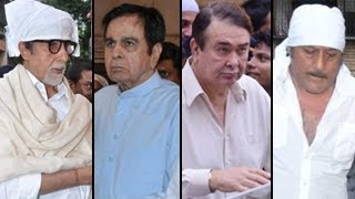 Amitabh Bachchan, Dilip Kumar attend Pran