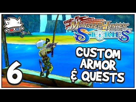 CUSTOM ARMOR & QUESTS! | Monster Hunter Stories #06 - ChaoticShadow24