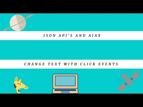 Change Text with Click Events, freeCodeCamp Tutorial