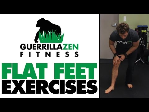Flat Feet Exercises | Ankle Mobility for Fallen Arches