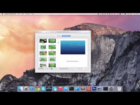 How to Enable Apple Mac Screensaver [HD][4K][Guide][Tutorial] 2017