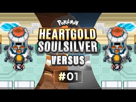Pokemon HeartGold and SoulSilver Versus - EP01 | A Mythical Start!