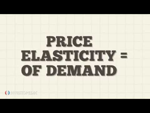 What Is Elasticity?