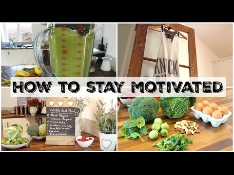 How to Stay MOTIVATED & Boost ENERGY Levels | UK Dietitian Nichola Whitehead