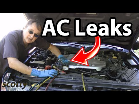 How to Find AC Leaks in Your Car (AC Hose Replacement)