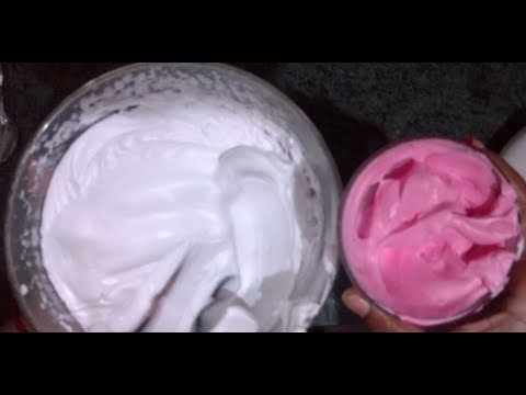 HOW TO MAKE ICING FROM WHIPPING CREAM  HOW TO MAKE COLOR FULL ICING