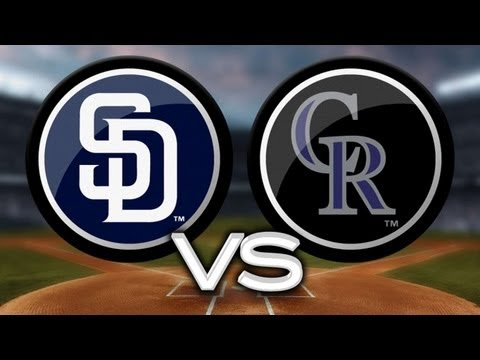 6/6/13: Padres win in extras to snap skid vs. Rockies