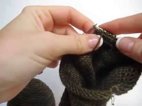 How to knit socks on 9