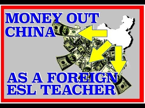 HOW TO SEND MONEY OUT OF CHINA - How to Send money HOME