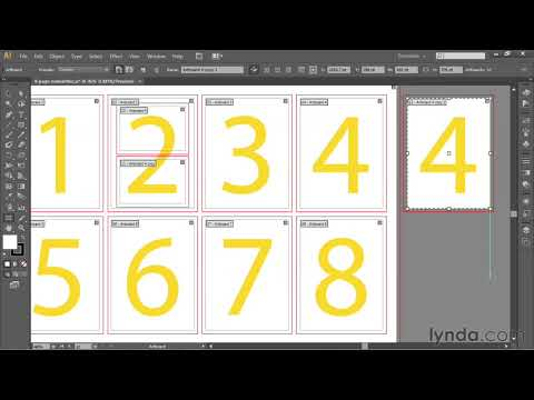 Illustrator tutorial: How to create and copy artboards | lynda.com