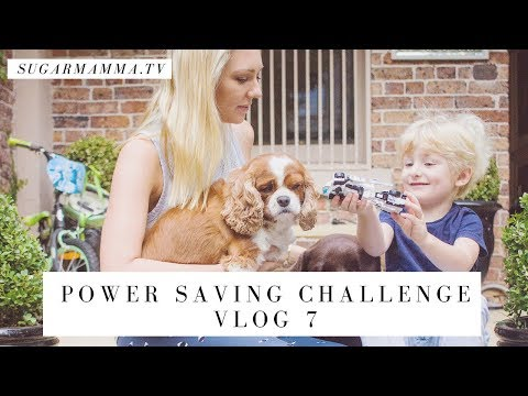 Power Saving VLOG Challenge 7 - My Power Saving Shopping Haul! || SugarMammaTV