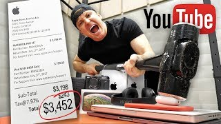 BREAKING ANYTHING YOU TOUCH FOR 24 HOURS!!