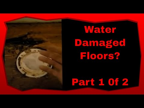 How To Remove and Replace Water Damaged Hardwood Flooring Part 1 of 2
