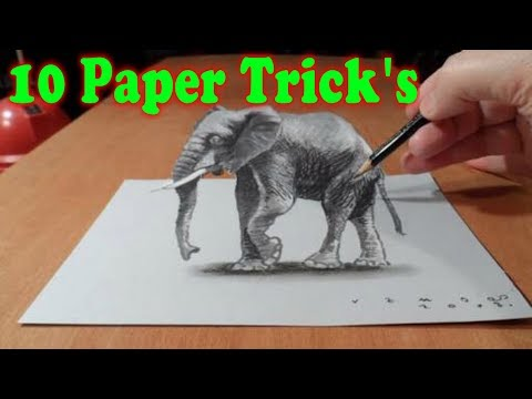 10 Amazing Paper Tricks | How to make Paper goods | Homemade paper goods | diy | Stupid engineer.