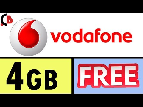 Get Vodafone 4GB 3G/4G Data For Free - Creative Bijoy