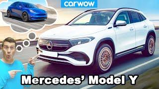 Mercedes' Tesla Model Y - the all-electric EQA!