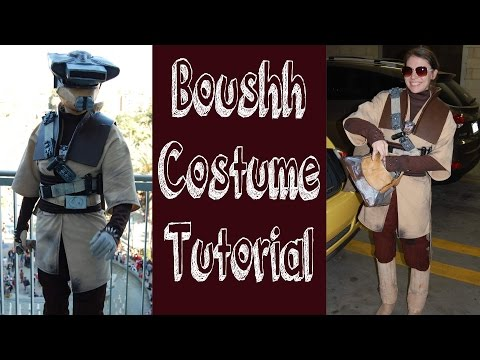 Princess Leia (as Boushh) Costume Tutorial