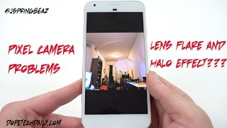 Google Pixel Camera Problems: Weird Lens Flare and Halo Effect