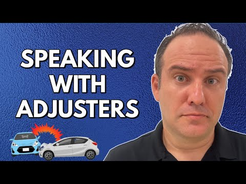 Speaking With Auto Insurance Adjusters After an Accident (Must See!)