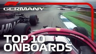 Crazy Spins, Pit-Stop Mayhem And The Best Onboards | 2019 German Grand Prix