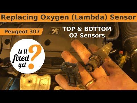 Replacing Oxygen ( Lambda ) Sensors - Peugeot 307