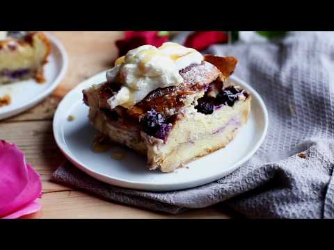Blueberry Cream Cheese French Toast Bake Recipe