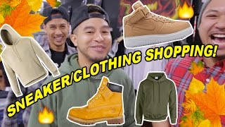 FALL/WINTER SHOPPING! WHAT TO BUY! SNEAKERS & CLOTHING!