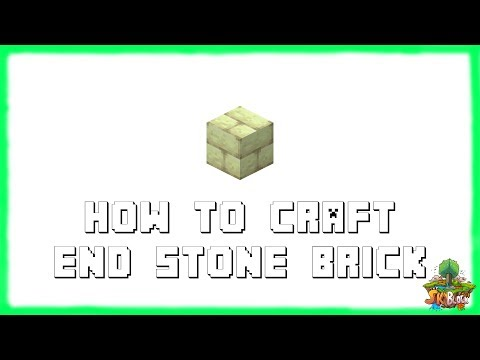 Minecraft 1.12.2: How to Craft End Stone Bricks! | Recipe Tutorial for Minecraft 1.12.2 | 2018