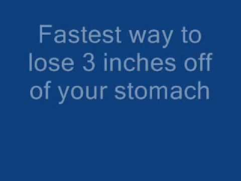 {Fastest Way to Lose 3 Inches off of Your Stomach} Blast off in 4 Weeks Flat