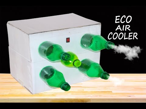 How to Make Eco Air Cooler at Home- Using plastic bottle