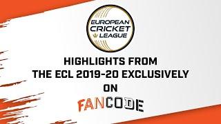 ECL 2019-20 Highlights | Scott Edwards's 55 off 15 balls | FanCode